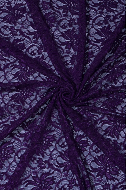 03045 Гипюр диз.02 цв.01 пурпурный