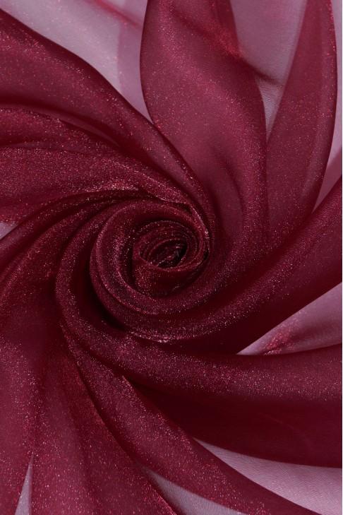 1010 Органза цв.33 бордовый