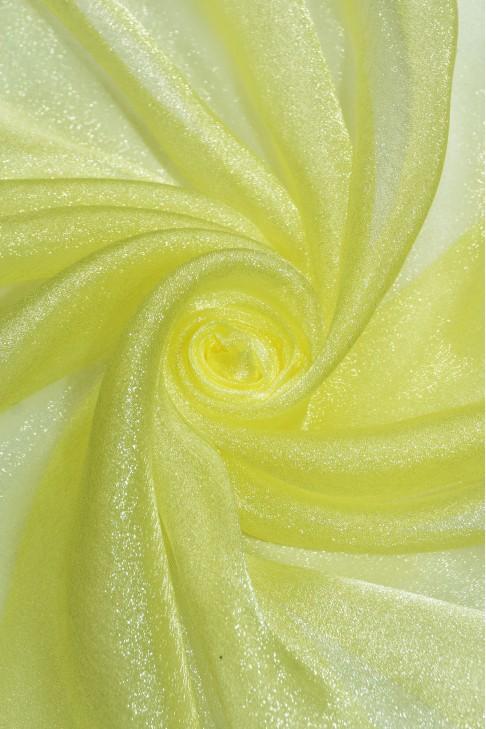 1010 Органза цв.34 лимонный