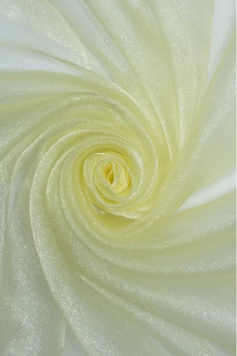 1010 Органза цв.35 св.лимонный