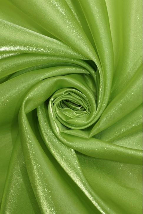 1011 Органза цв.16 салатовый