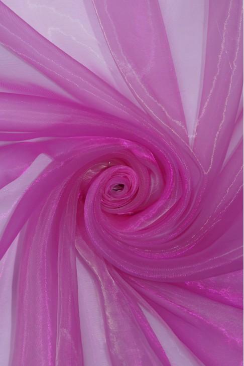 1012 Органза цв.10 малиновый