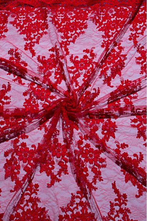 03029 Гипюр цв.04 красный