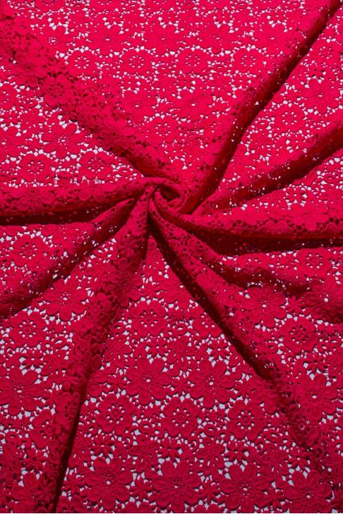 03037 Гипюр цв.06 ультра-розовый