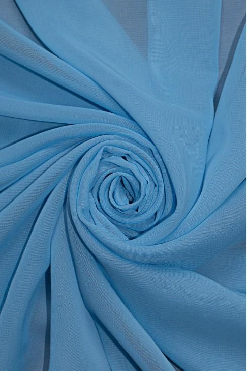 01777 Шифон Lot  B цв. 09 св. голубой