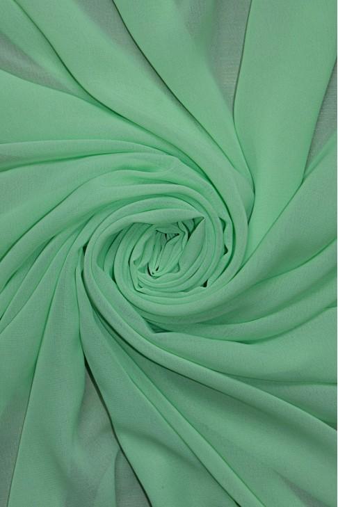 01777 Шифон Lot  A цв. 38 бледно-зелёный