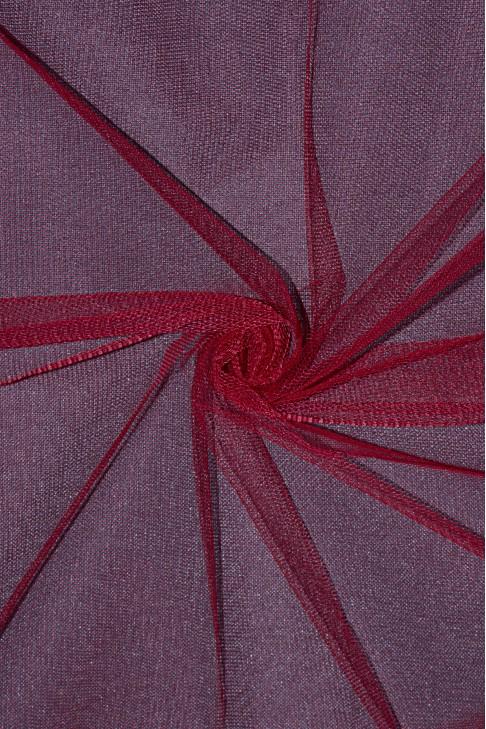 01680 Фатин жесткий цв.23 красный