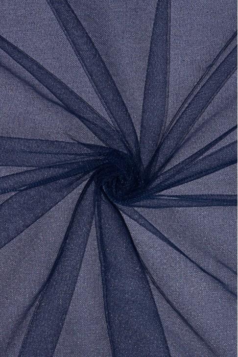 01659 Фатин мягкий цв.26 т.синий