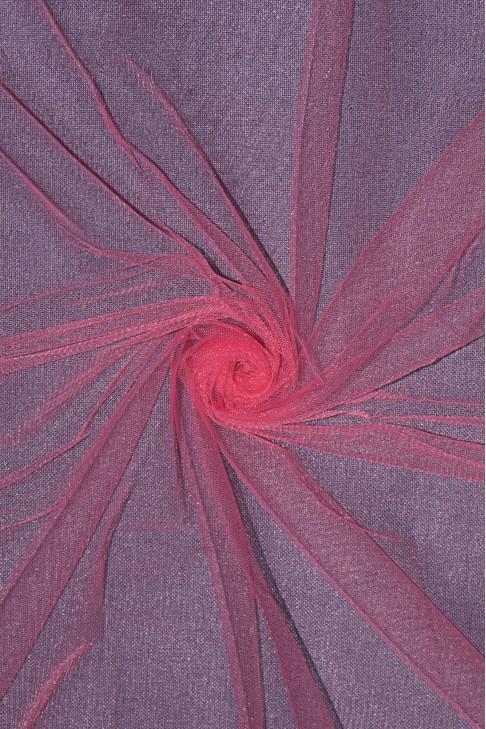 01659 Фатин мягкий цв.17 коралловый
