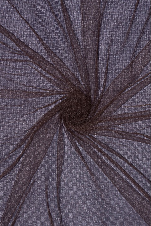 01659 Фатин мягкий цв.28 коричневый