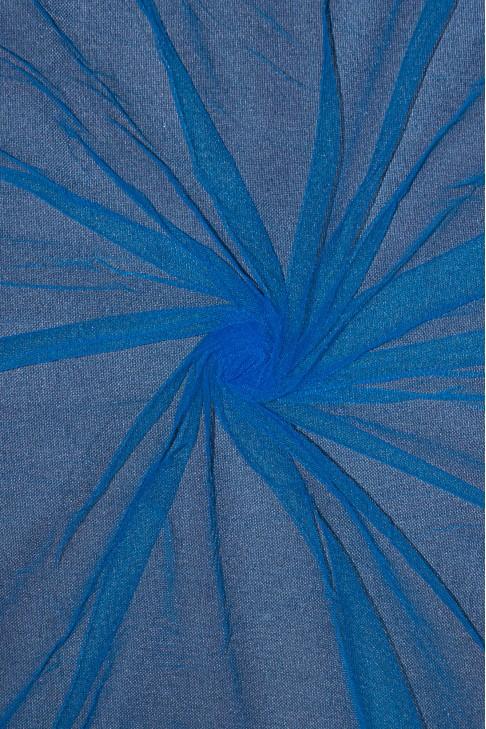 01659 Фатин мягкий цв.22 ярко-голубой
