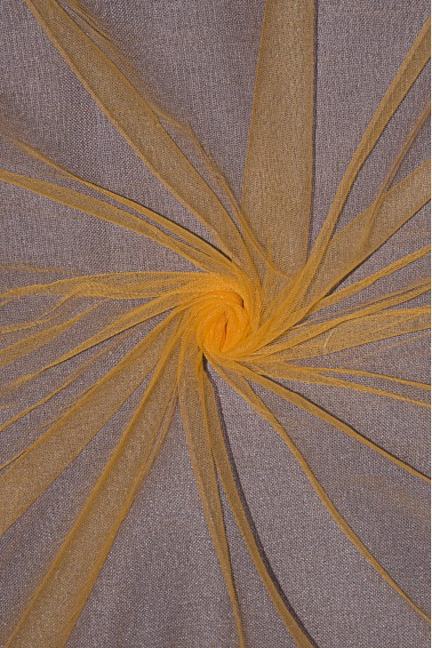 01659 Фатин мягкий цв.24 оранж