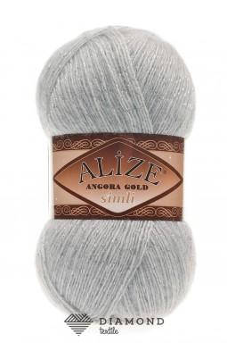 Ангора Голд Симли цв.21 серый