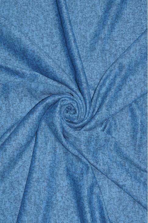 02407 Трикотаж цв.13 голубой