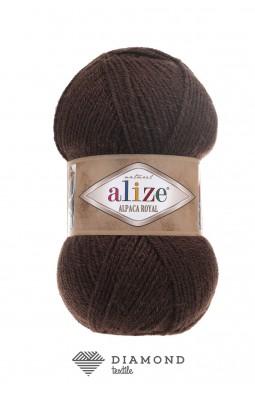 Альпака Роял цв.201 коричневый