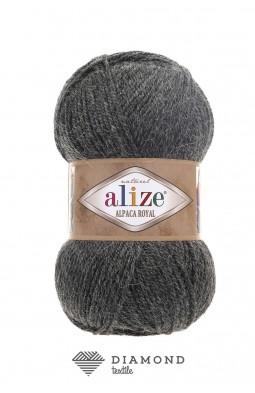 Альпака Роял цв.182 темно-серый меланж