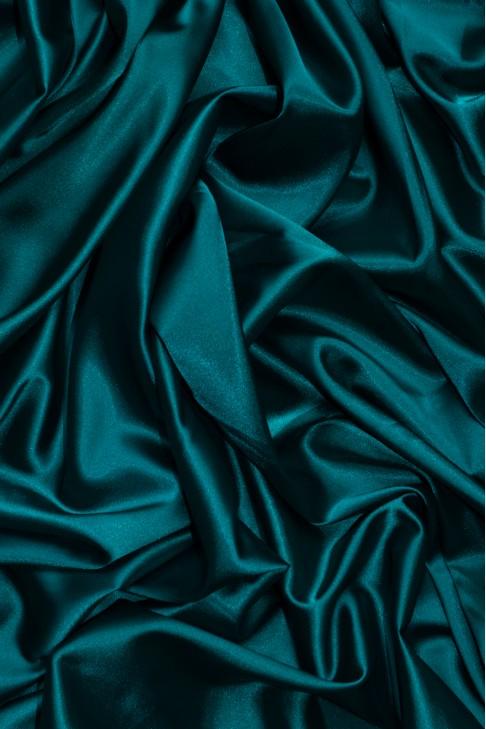 02086 Атлас цв. 51 т.зеленый