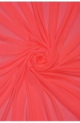2521 Сетка - стрейч цв. 09 ультро-оранжевый