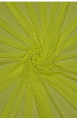 2521 Сетка - стрейч цв. 11 жёлтый