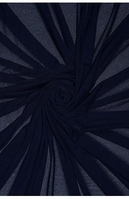 2521 Сетка - стрейч цв. 12 т. синий