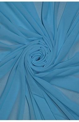 2521 Сетка - стрейч цв. 14 голубой