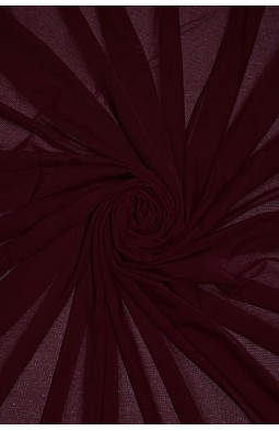 2521 Сетка - стрейч цв. 16 бордо