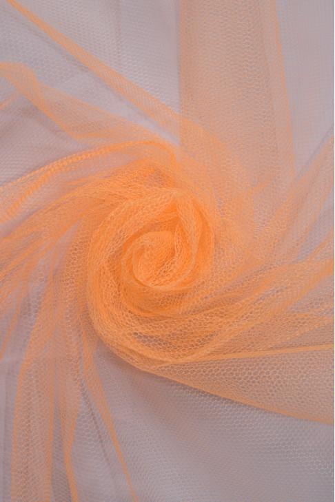 01680 Фатин жесткий цв.43 ультра оранжевый