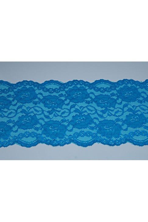 03051 Кружево стрейч цв.морской волны
