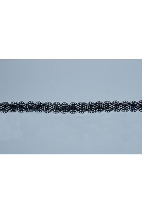 01683 Кружево макраме цв.01 черный