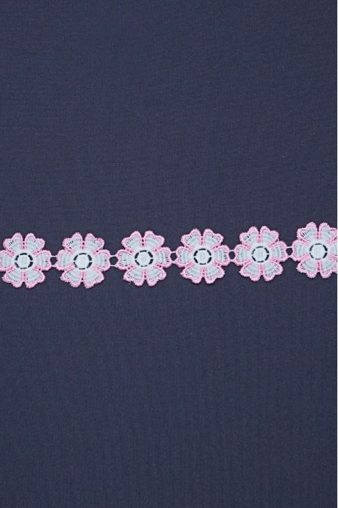 05192 Кружево диз.16255 цв.ярко-розовый