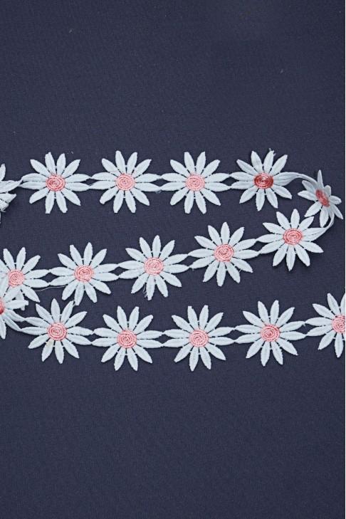 05195 Кружево цв.лососевый