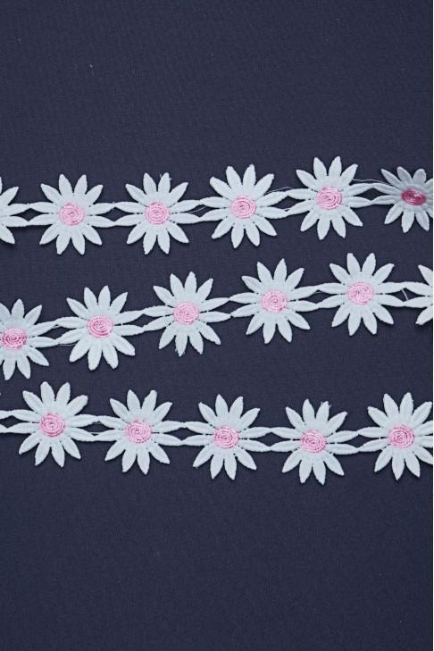 05195 Кружево цв.розовый