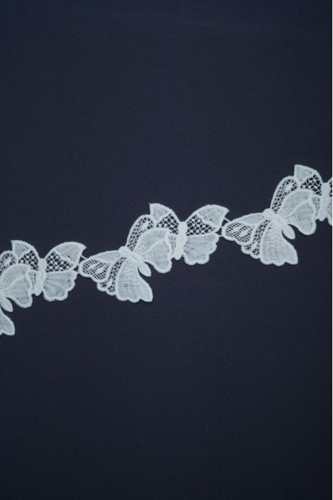 01780 Кружево макраме цв.белый