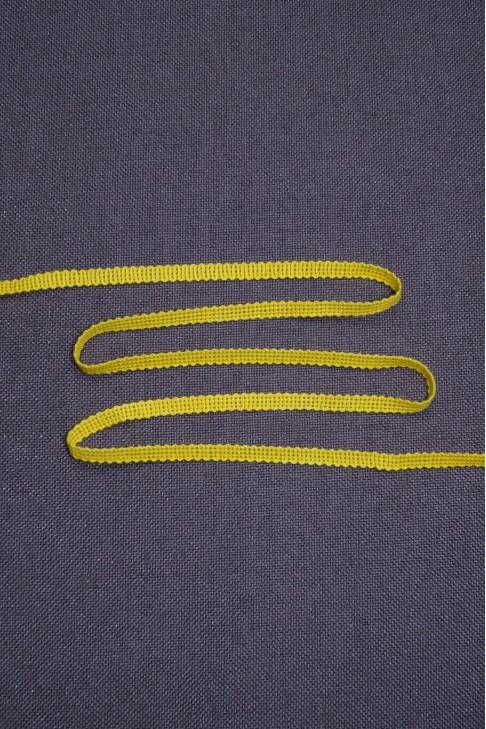 04163 Тесьма  цв.желтый