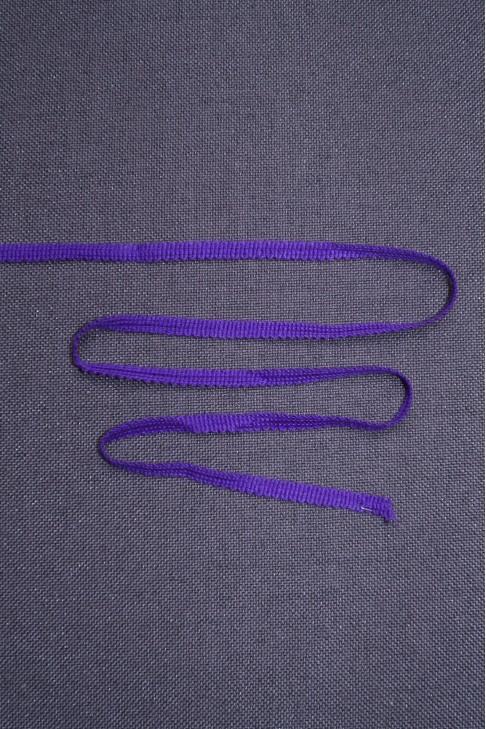 04163 Тесьма  цв.фиолетовый