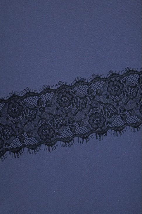 05735 Кружево шантильи цв.01 черный