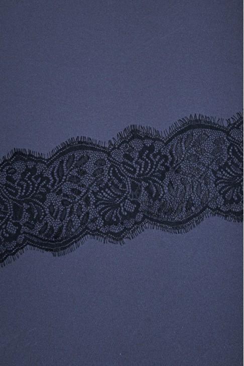05739 Кружево шантильи цв.01 черный