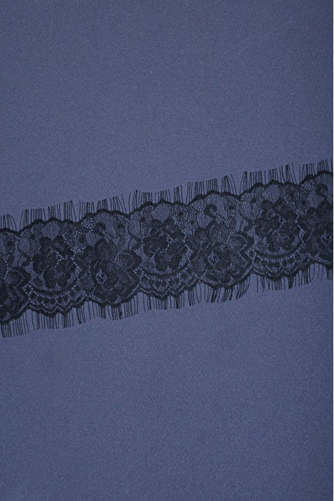05733 Кружево шантильи цв.01 черный