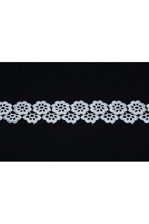 05117 Кружево макраме диз.301185 цв.белый