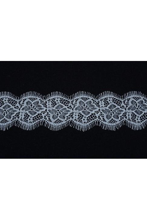 1990 Кружево шантильи цв.01 белый