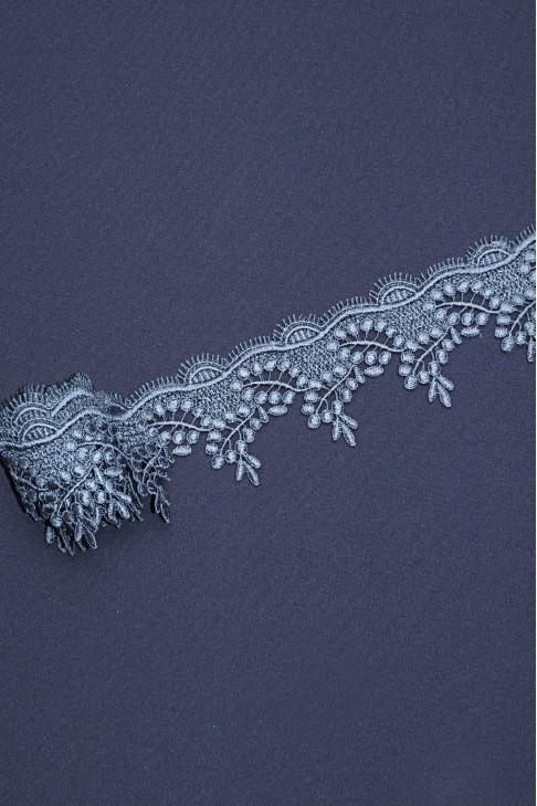 0243 Кружево макраме цв.17 серый