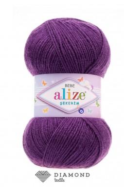 Шекерим беби цв. 44 темно фиолетовый
