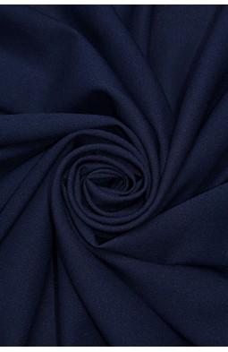 1827 Стрейч - шифон цв.15 т.синий