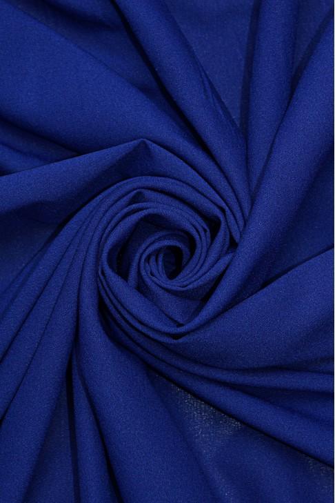 1827 Стрейч - шифон цв.13 синий