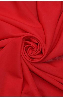 1827 Стрейч - шифон цв.12 красный