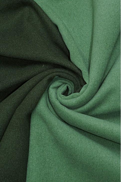 19461 Пальтовая цв.06 зеленый+св.зеленый