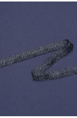 6355 Бахрома цв.06 черное серебро