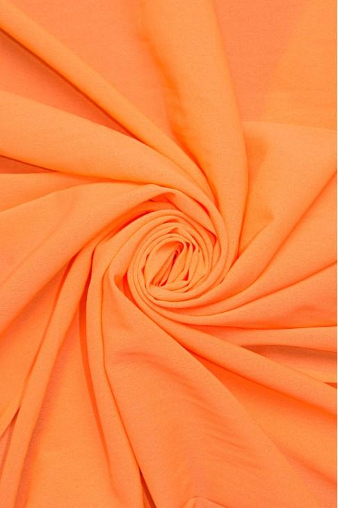 1827 Стрейч - шифон цв.026 ультра оранжевый