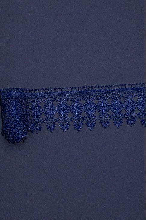 15026 Кружево макраме цв.07 синий