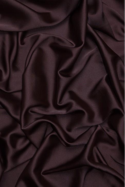 02091 Атлас цв. 18 коричневый